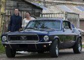Trouwauto Ford Mustang Fastback huren