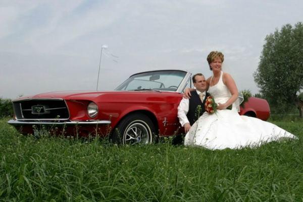 Fotoreportage met Ford Mustang Cabrio