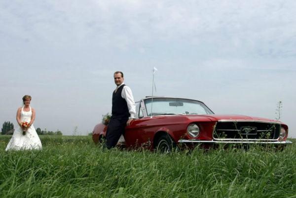 Mustang cabrio huren